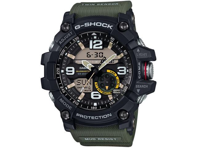 CASIO G-SHOCK GG-1000-1A3ER Zegarek Mężczyźni, green/black/grey
